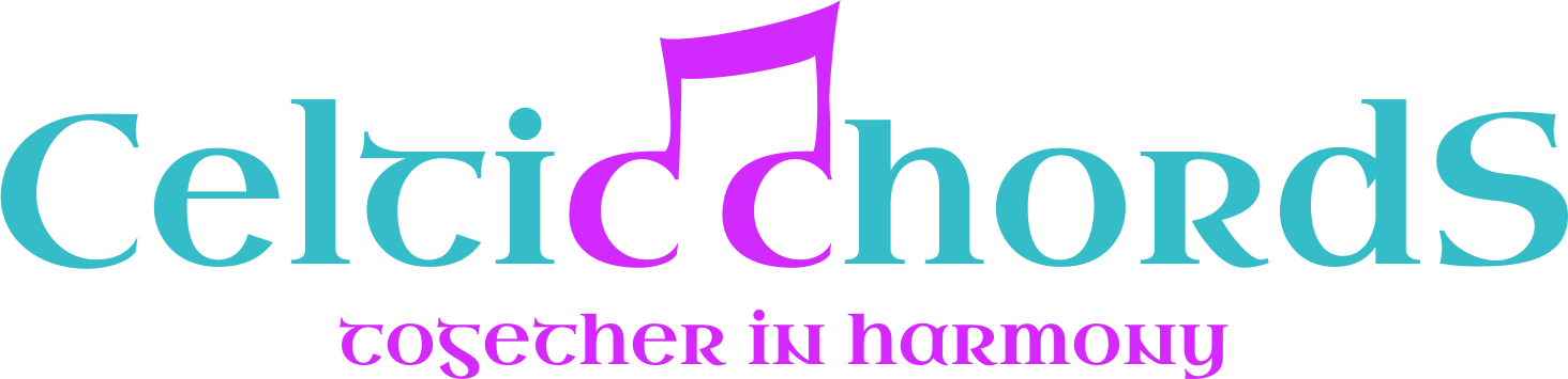 Celtic Chords logo | Ladies 4-Part Acapella Barbershop Chorus in Cornwall