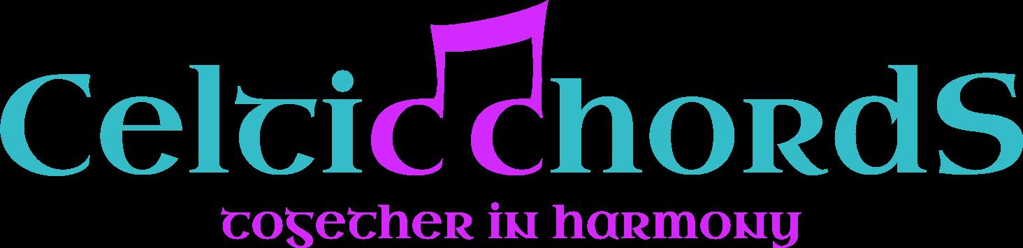 Celtic Chords logo | Ladies 4-Part Acapella Barbershop Chorus in Cornwall